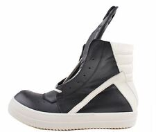 Rick Owens Geobasket High-top Leather Sneakers Size 6.5-9  / 3894 911 LVBP