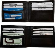 Man's Wallet. Quality leather Billfold man's wallet Bifold 5 credit card slot BN