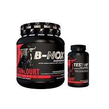 Betancourt Bullnox Pre-Workout B-Nox Variety Flavors 35 Servings + TEST-HP COMBO