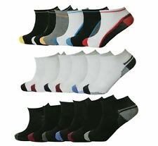 12x Pairs Mens Trainer Liner Ankle Socks Designs Adults Gym Sports Socks UK 6-11