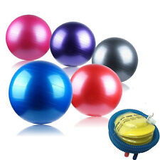 NEW Yoga Ball Stability Exercise Fitness Ball With Pump 45/55/65/75CM Anti-Burst