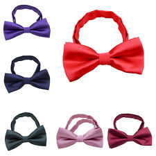 Children Kids Boys Toddler Bowtie Pre Tied Wedding Party Bow Tie Necktie