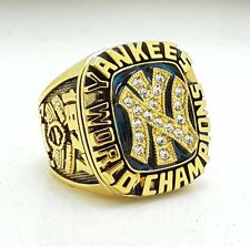 1977 New York Yankees World Series Championship Copper ring Size 8-14 Solid Back