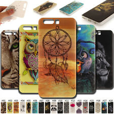 For Huawei Phones Skin Silicone Rubber Soft Case Fashion Various Back TPU Cover
