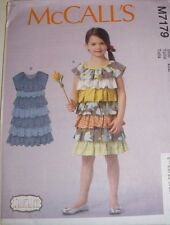 McCalls 7179 LAURALEE Ruffled Tiered Dress Pattern ( Girls Size 2-5 )