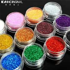 24Pots/Set Holographic Glitter For Face Painting Temporary Tattoos Body Nail Art