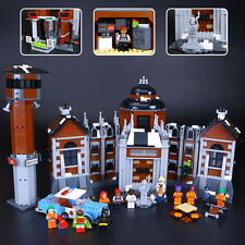 DIY Kids Toys-Batman Arkham Asylum-Super Heroes-Lego compatible-1628pcs-70912