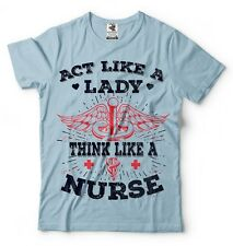 Nurse RN T-shirt Medical Worker Tee Gift for Wife Girlfriend Sister Nursing Tee