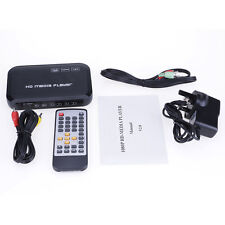 1080p Full SD&USB2.0 Multi-Media HD Remote HDMI/VGA/AV Player Reader Stylish