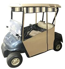 EZGO RXV - Track-Style Sunbrella Golf Cart Enclosure. Includes Solid Valance!