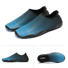 Men Skin Shoes Water Shoes Aqua Summer Sport Socks Pool Beach Swim Slip On Surf