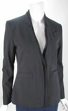 BCBG Maxazira One Button Pin Striped Long Sleeve Blazer Jacket Sz XS, S, M NWT