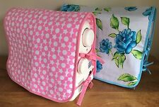 SEWING MACHINE DUST COVER Tie Sides Padded MANY EXCLUSIVE DESIGNS 2 Sizes