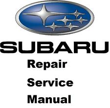 ALL SUBARU IMPREZA/ WRX STI/ XV CROSSTREK FACTORY SERVICE MANUAL 1994 TO 2016