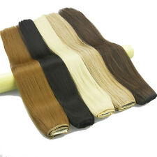 """24""""/60cm Clip In Long Silky Straight Synthetic 5 Clips Hairpiece Hair Extensions"""