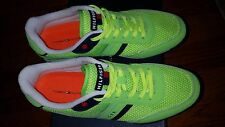NEW WITH BOX TOMMY HILFIGER NEWMAN 2 MEDIUM GREEN SUEDE MEN,S SNEAKERS