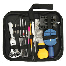 Watch Tool Repair Holder Opener Pin Link Band Remover Spring Bar Case Kits +CASE