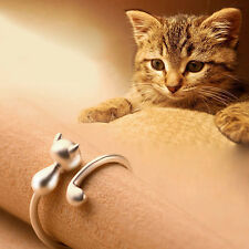 Sweet Animal Cat Open Finger Ring Jewelry Charm Women Party Prom Gift Advanced
