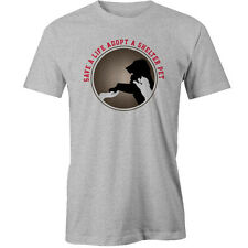 Save A Life Adopt A Shelter Pet T-Shirt rescue Animal dogs