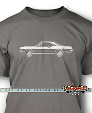 1967 Plymouth Barracuda Coupe Men T-Shirt - Multiple colors & Sizes