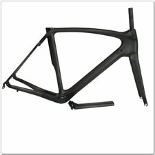 700C Full UD Carbon Fiber Road Bike Frames Bicycle Black Frameset Fork Seatpost
