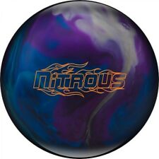 Columbia 300 Nitrous Blue/Purple/Silver Bowling Ball with Bow
