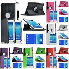 PU Leather 360° Rotating Protective Case for Samsung Galaxy Tab 3 Lite 7.0 T110