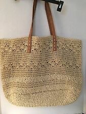 Beach Bag by MERONA Extra Large Tote Soft Straw Mother's Day Grad Gift