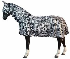 Lightweight Horse Combo Breathable Turnout Fly Rug with Neck/Belly With Mask