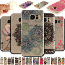 For Samsung galaxy Skin Silicon Back Silicone Soft Protective TPU Case IMD Cover