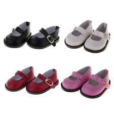 Doll Ankle Belt PU Leather Shoes for 18'' American Girl Gotz Doll Clothing ACCS