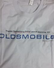 Men's Silver White Something Extra Oldsmobile Graphic Tee T Shirt L XL 2X Large