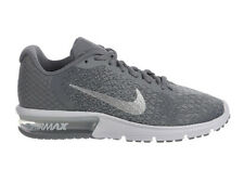 NEW WOMENS NIKE AIR MAX SEQUENT 2 RUNNING SHOES TRAINERS COOL GREY / METALIC SIL