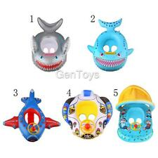 Cute Kids Baby Toddler Swimming Pool Swim Seat Float Boat Ring Aid Trainer Toys