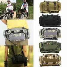 Military Army Travel Waist Bag For Tactical Camping Hiking Bike Bicycle Sport  A
