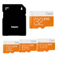 32/64/128GB Micro SD Memory Card TF w/Adapter Class10 SDHC SDXC 80Mb/s AU