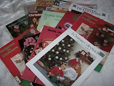 Christmas Ornaments ~ Stockings ~ cross stitch patterns ~ Your Choice
