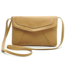 Leather Clutch Envelope Handbag Purse Bag Women Shoulder Fashion Messenger Pouch