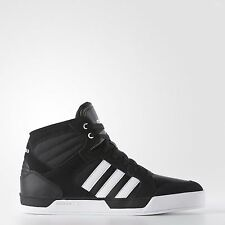 Adidas BBNEO Youth Boys Raleigh Black Basketball Shoes Sneakers Sizes 1-7 NIB