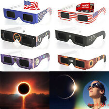 Solar Eclipse Glasses 2017 Galaxy Edition (10 Pack) CE and ISO Standard View Lot