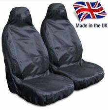 LAND ROVER DEFENDER 110 HD WATERPROOF FRONT BLACK SEAT COVERS 1+1