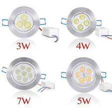 4 Pack Dimmable 3W 4W 5W 7W LED Ceiling Light Recessed Downlight Lamp W/ Driver