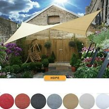 12 x 12FT Square Sun Shade Sail 98%UV Block Outdoor Pool Canopy Patio Top Cover