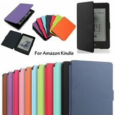 For Amazon Kindle 6 (2014) Magnetic Ultra Slim Leather Smart Case Cover Skin
