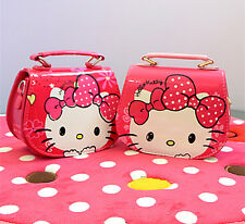 New Cute Girl HelloKitty Messenger Bag handbag Purse Bags Kids lyo-C90771