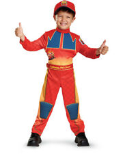Child's Boys Deluxe Disney Cars 3 Lightning McQueen Costume