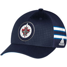 adidas Winnipeg Jets Navy 2017 Draft Structured Flex Hat - NHL