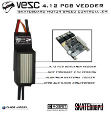 V ESC 4.12 Controller (Motor 6355 & Power Switch optional) Electric Skateboard