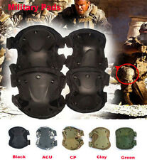 Military Airsoft Guns Tactical Combat Protective Knee Elbow Pads Roller Skating