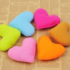 Cute Heart-Shaped Love Pillow Soft Chewing Toy Lovely Puppy Dog Pet Bed Toy